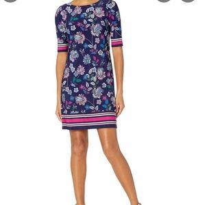 Eliza j s8 paisley shift dress